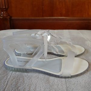 Chinese laundry jelly sandals